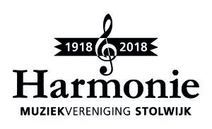 Het nieuwe logo van de Harmonie, zoals onthuld d.d. 11-02-2016.