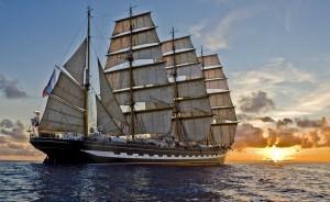 On deck SS Harmonie 2